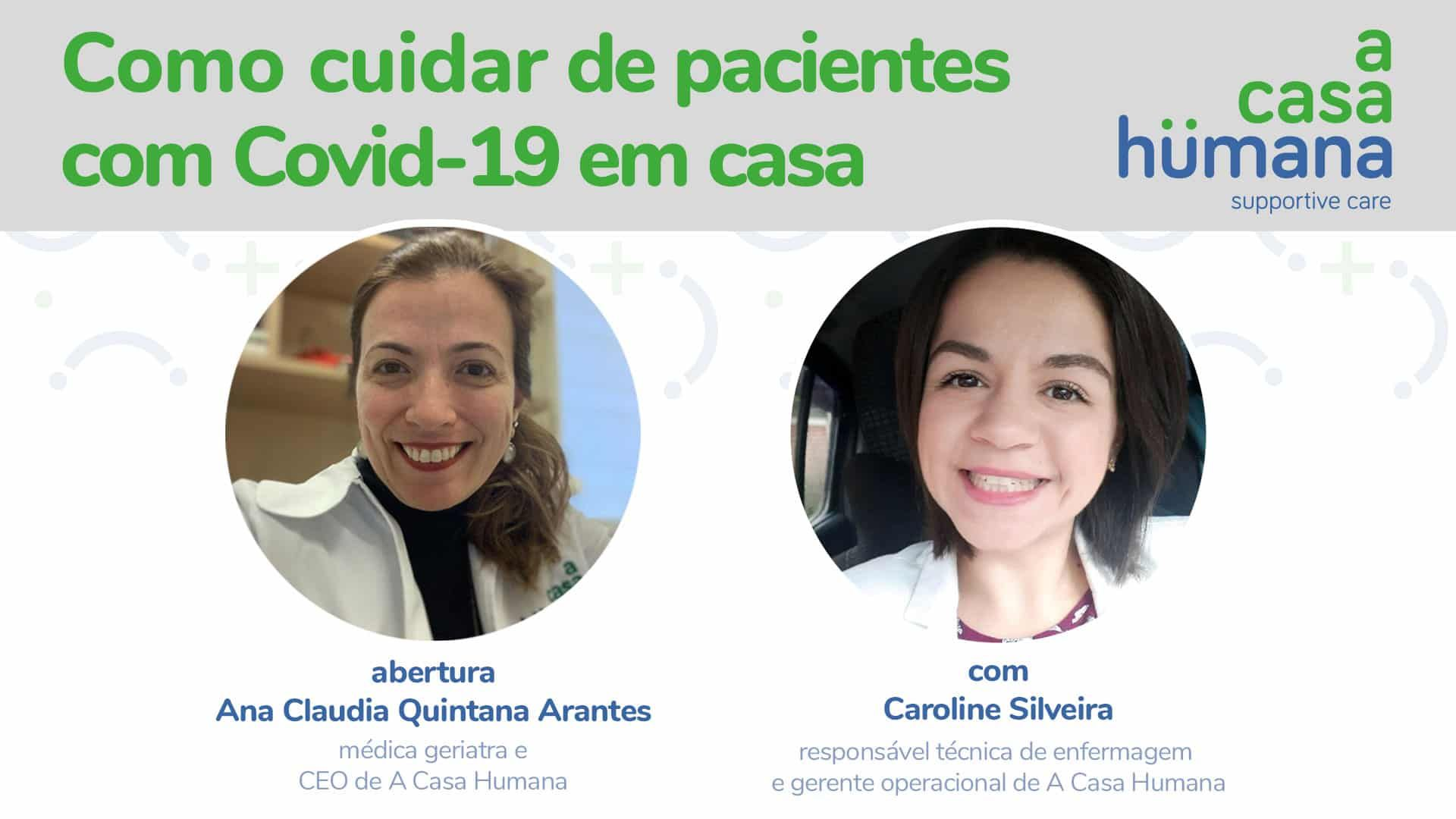 Como cuidar de pacientes com Covid-19 em casa